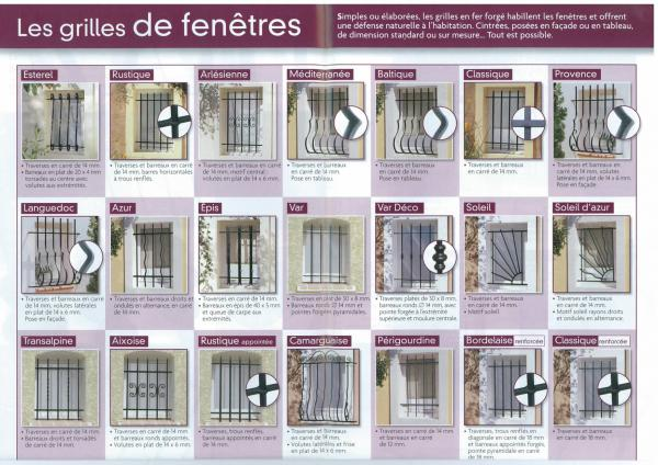 photos de grille de d fense pour fen tre ma fen tre. Black Bedroom Furniture Sets. Home Design Ideas