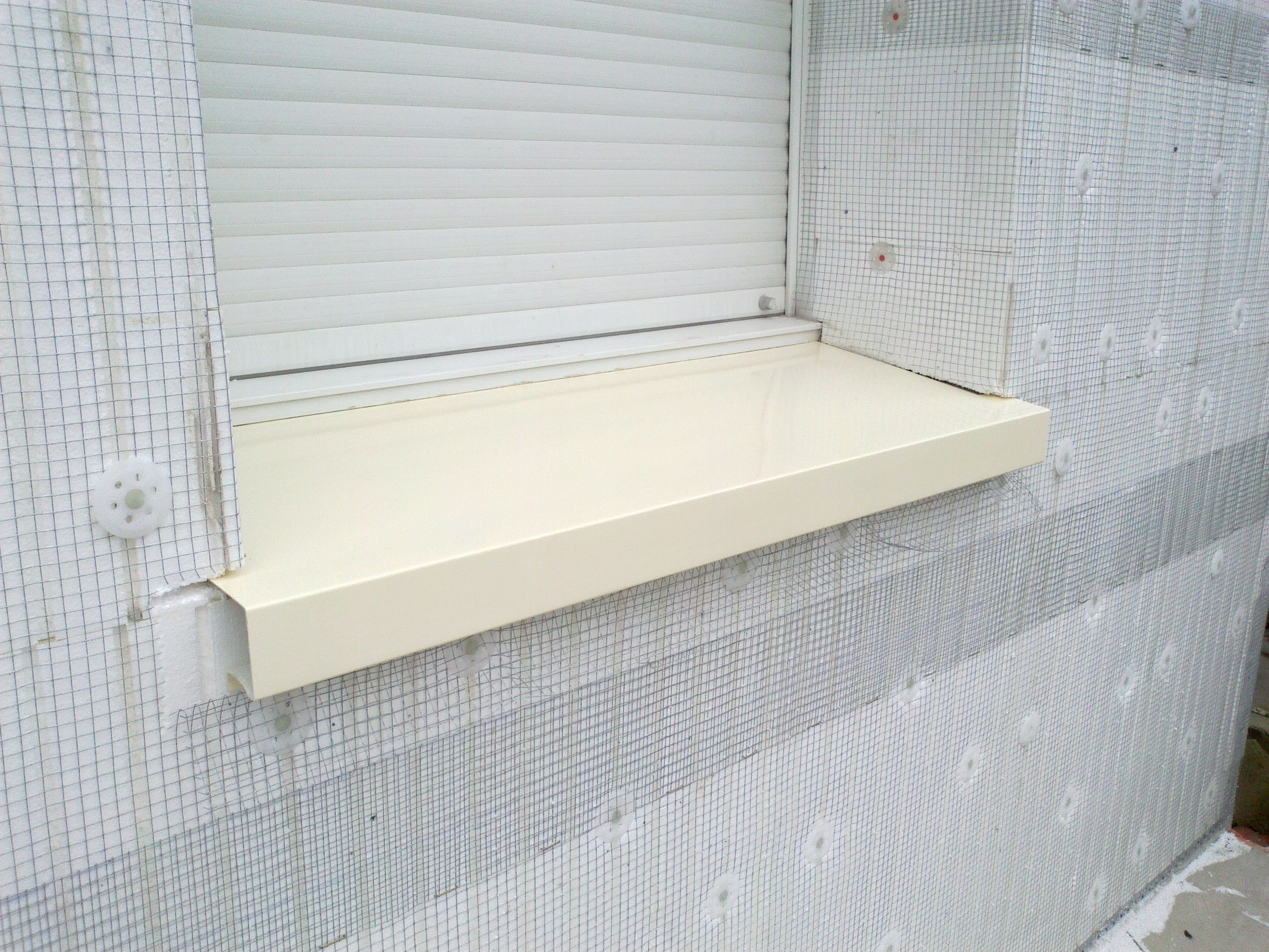 Habillage fenetre pvc renovation les for Moulure fenetre exterieur